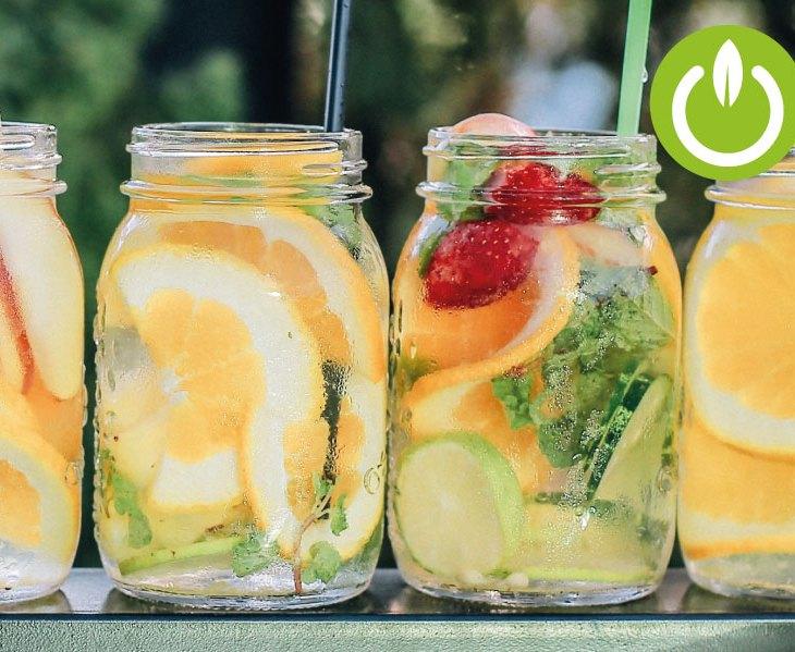 Agua Detox: Beneficios y preparación
