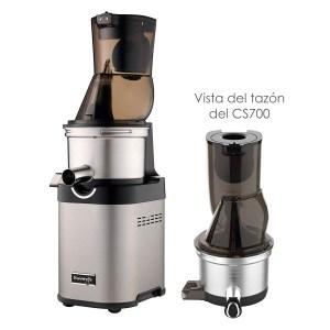 Extractor Cold Press Comercial Acero Inox Kuvings CS700
