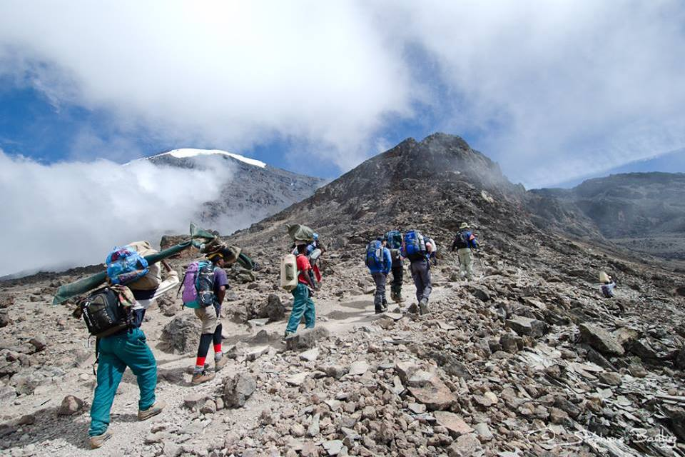 Kilimanjaro Umbwe Route 7 Days Climb Via Western Breach