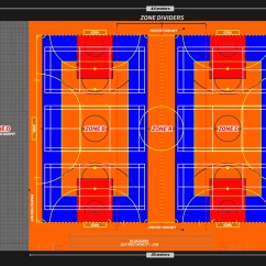 Multiple Basketball Court Diagram Vw Polo 2002 Wiring Sportzone Indoor Sports In Kuwait Fitness First
