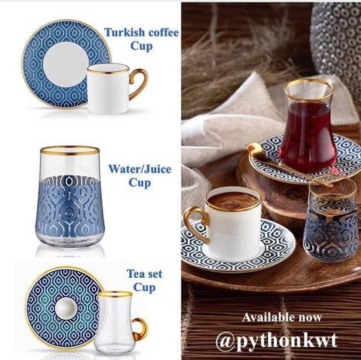 تشكيله جديده من فناجين القهوه التركيه