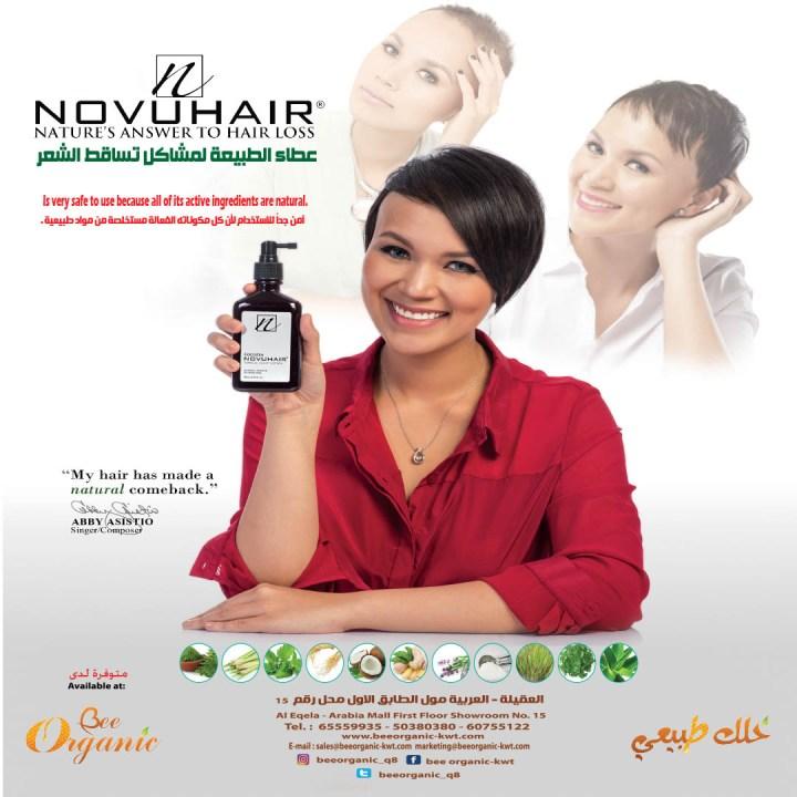 Novuhair Nature Answer to Hair Loss