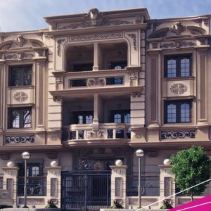 فيلات منطقة القرنفل – مصر