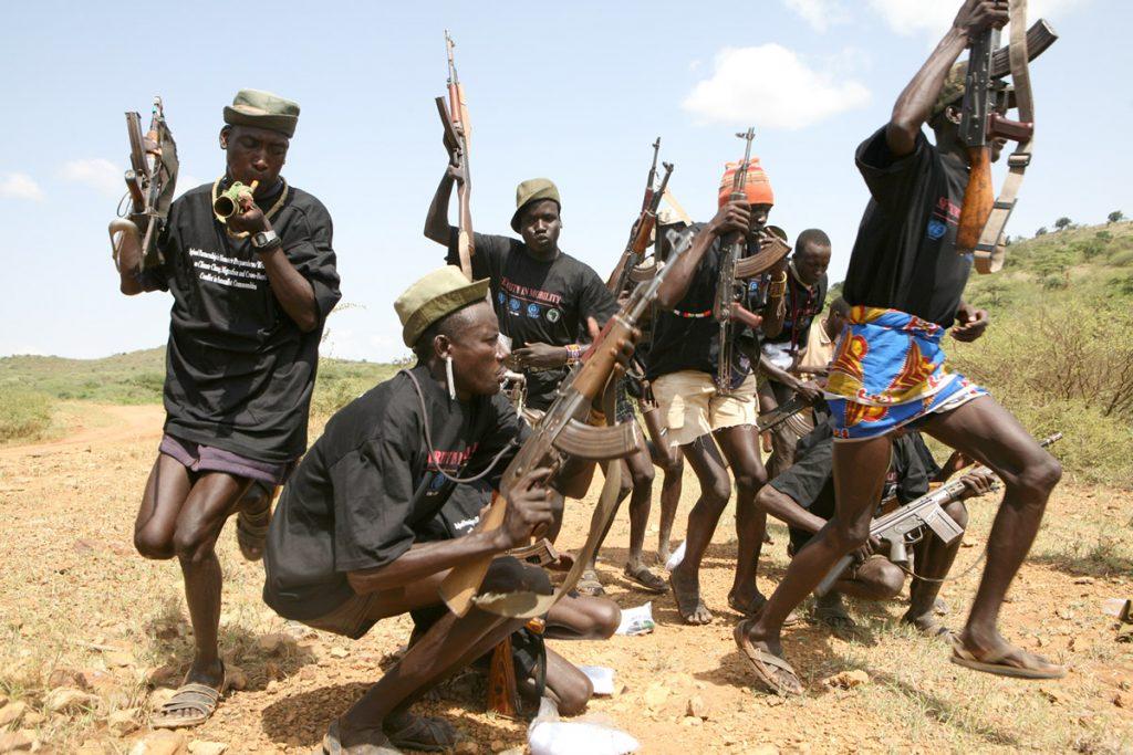 Armed Pokot Warriors