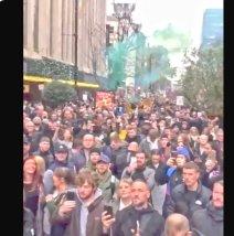 イギリスのデモ