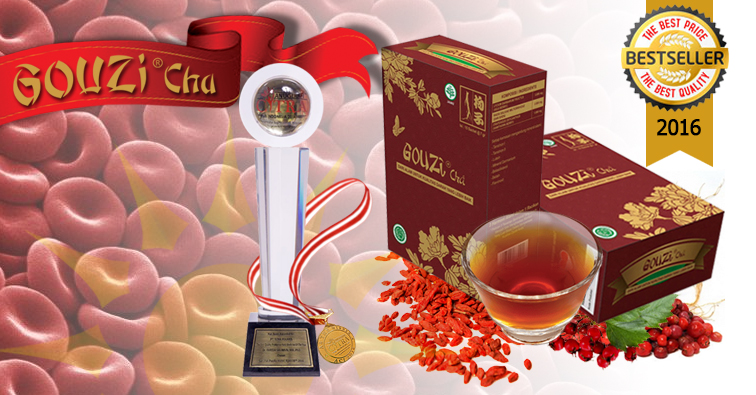Jual Teh Herbal Gouzi Cha, Teh Ajaib yang Melancarkan Aliran Darah Serta Menjaga Kesehatan Tubuh