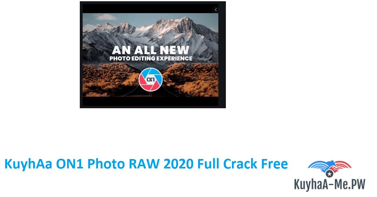 ON1 Photo RAW 2021 Full Version (Win/Mac)