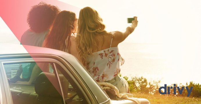 Drivy - Economía colaborativa - Selfie