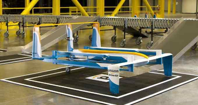 Amazon - Envío con drones - innovación