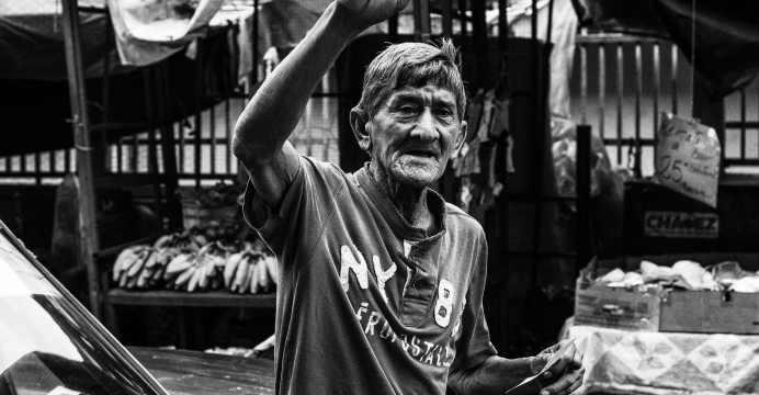Maracaibo - Persona protesta en Venezuela
