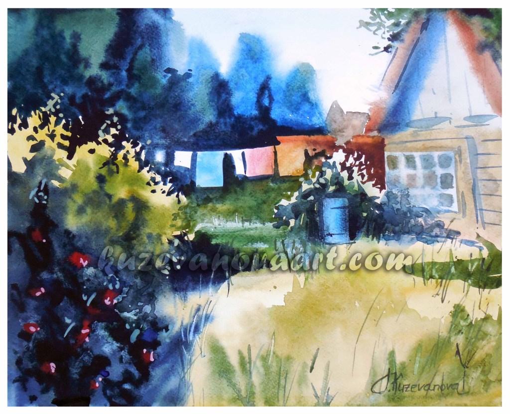 Cottage sketch