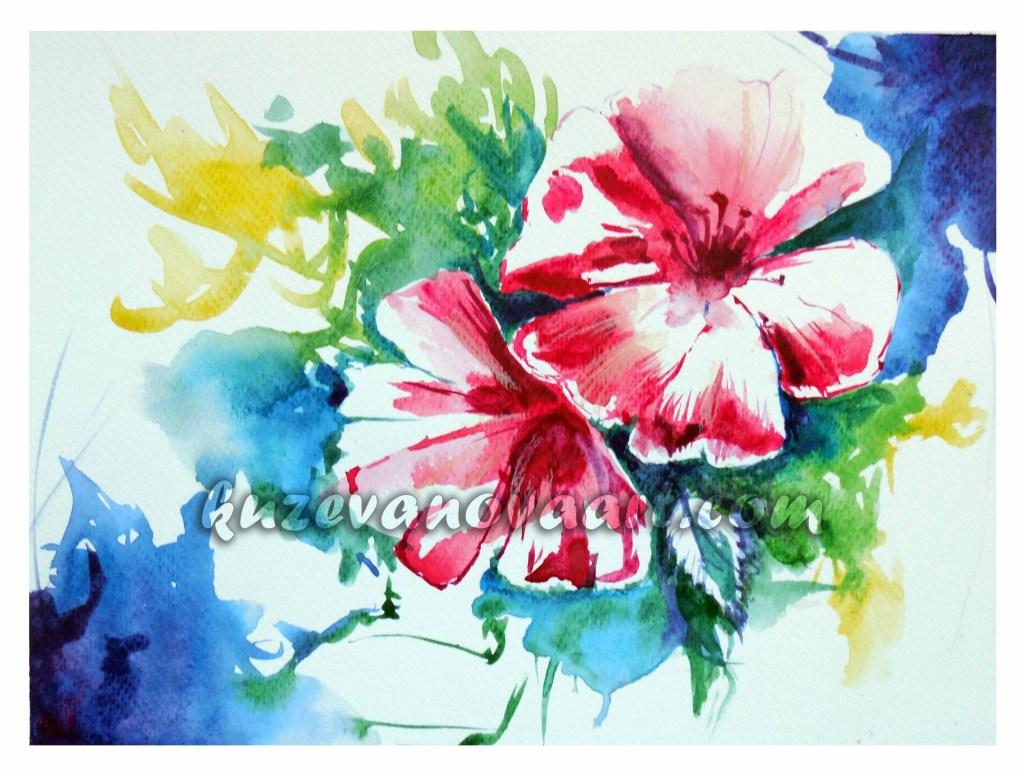 Цветочная зарисовка