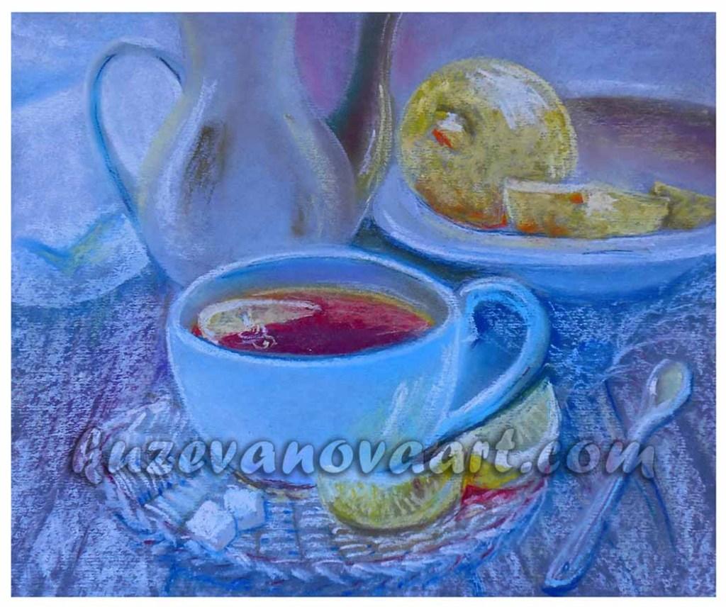 Tējas dzeršana