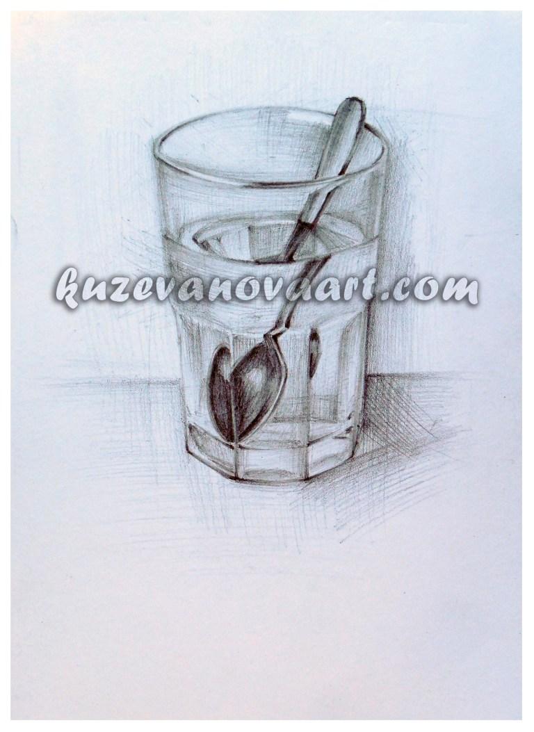 Ложка в стакане