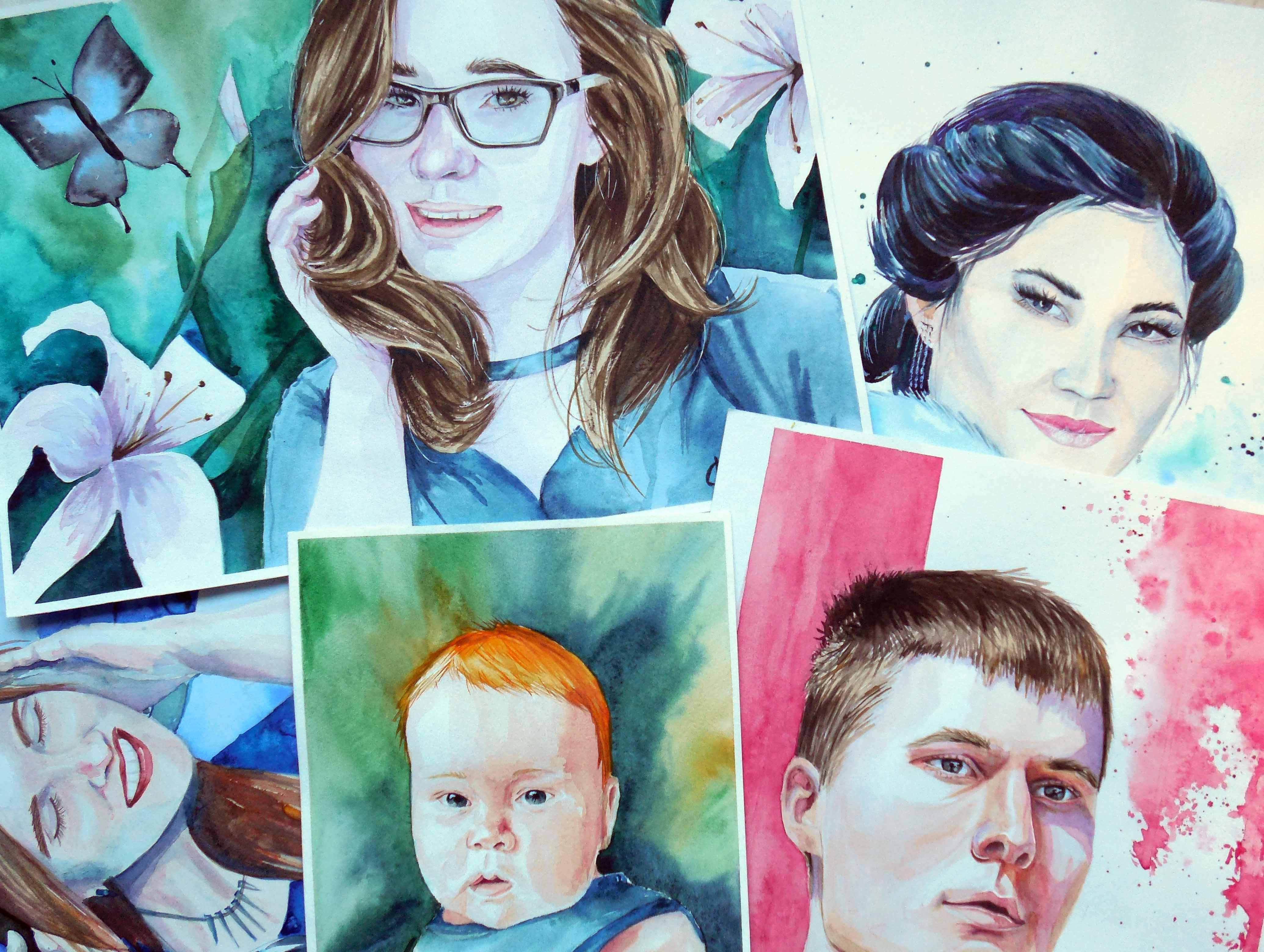 Мой марафон портретов