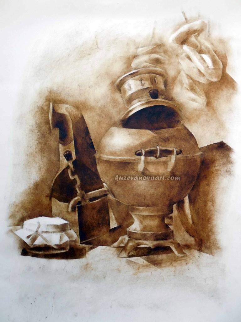 Still life with a samovar