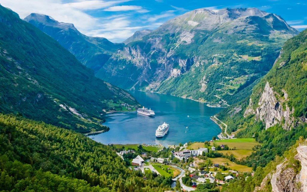 avrupa rüyası norveç fiyortlar gemi yolculuğu