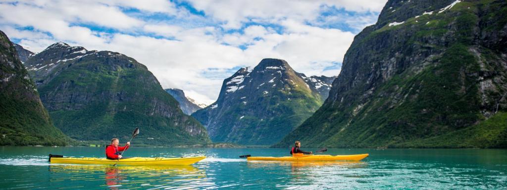 avrupa rüyası norveç flam fiyortlarda kano turu