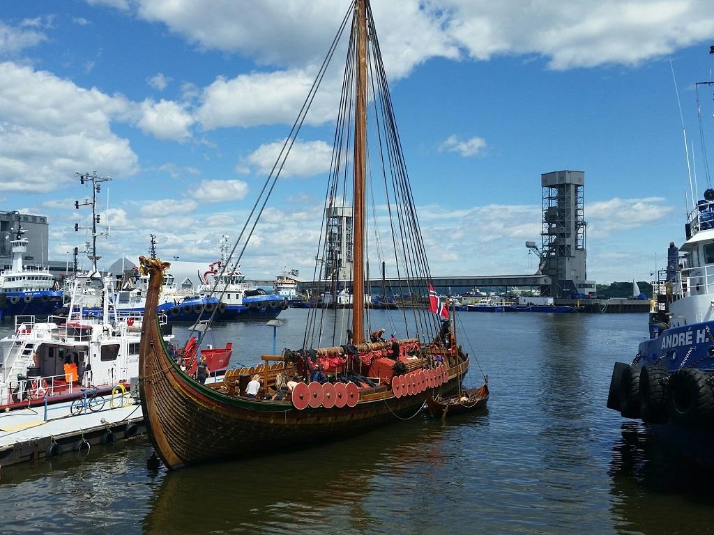 avrupa rüyası viking gemisi
