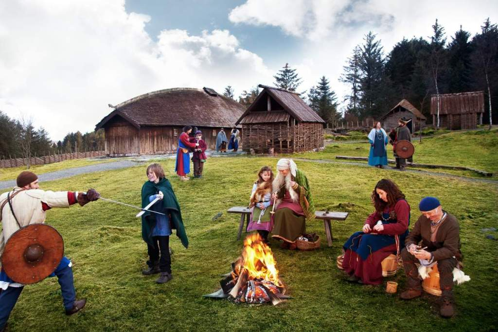 avrupa rüyası viking köyü