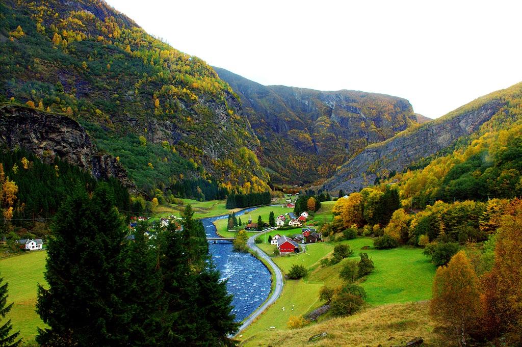avrupa rüyası norveç flam köyü