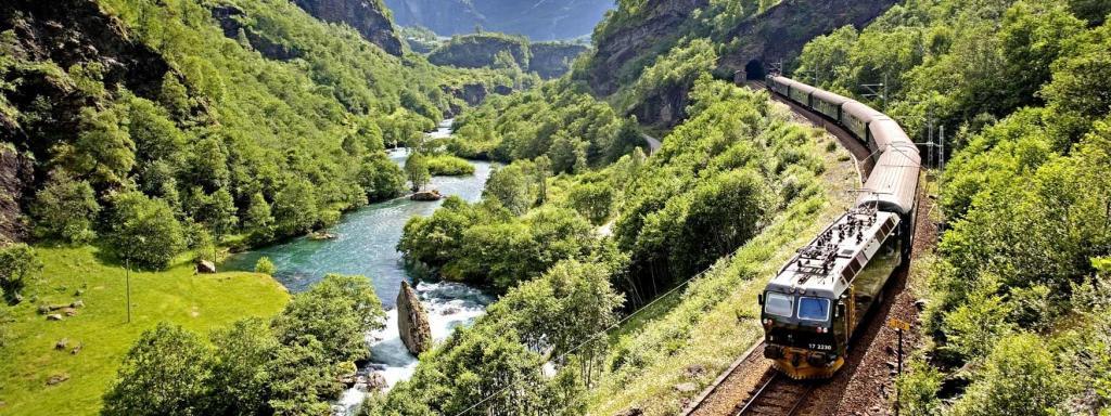 avrupa rüyası norveç flamsbana treni yolculuk