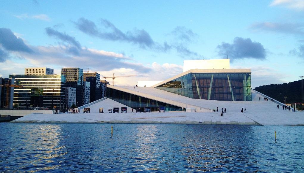 avrupa rüyası norveç oslo opera binası