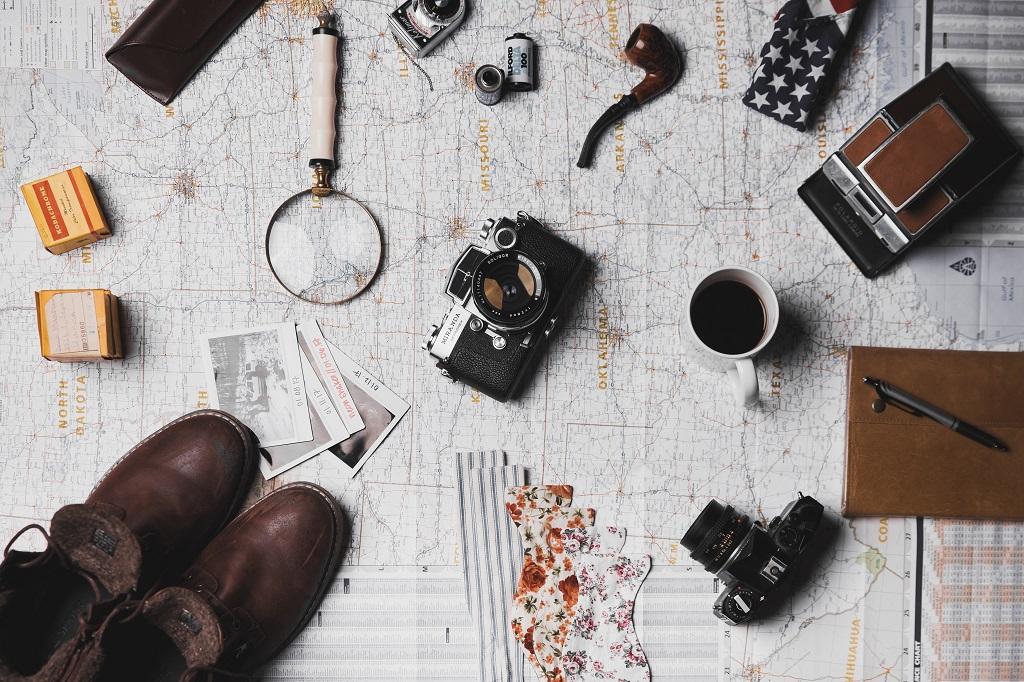 seyahat haritası