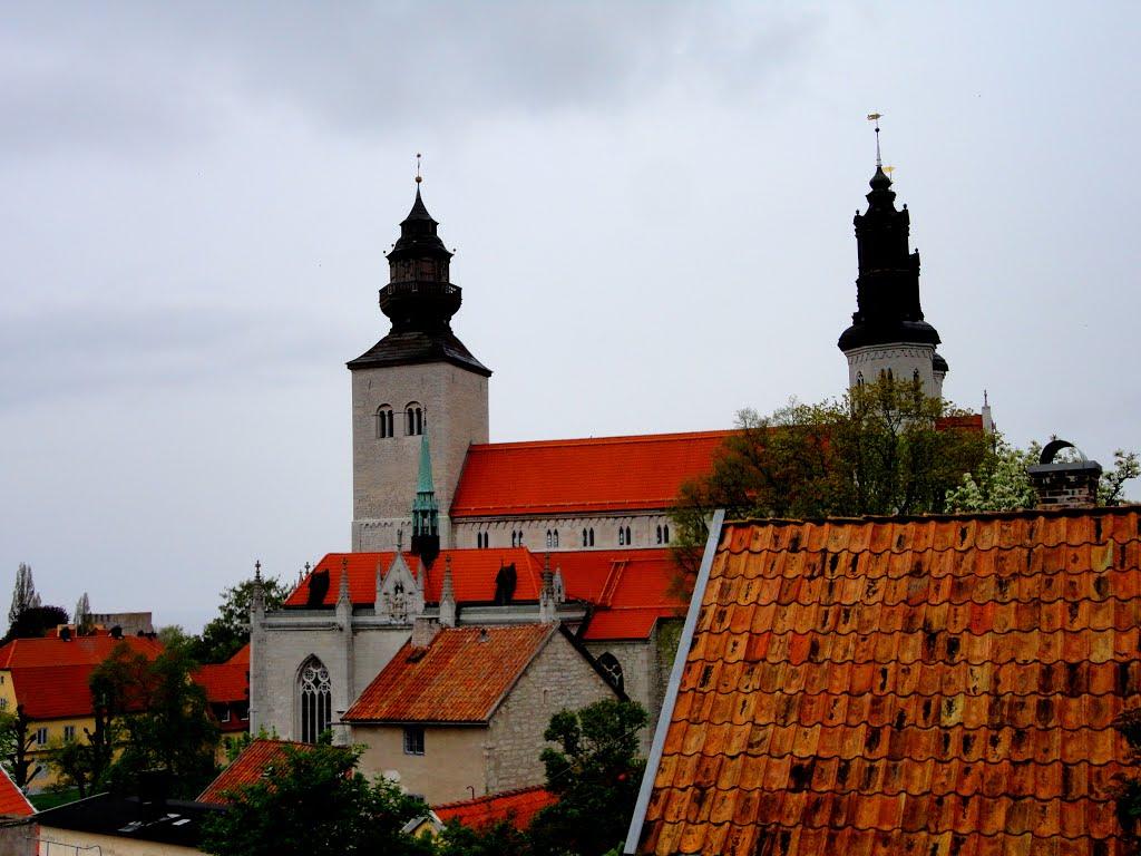 isveç Visby Hansa Kasabası