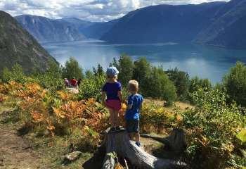 Norveç Kasabası Sogndal