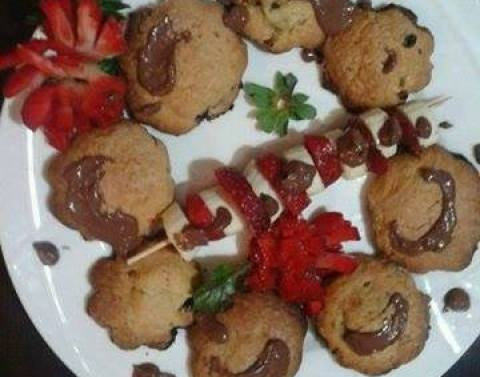 Biskota me nukrema dhe banane - Sona Feimi - KuzhinaIme.al