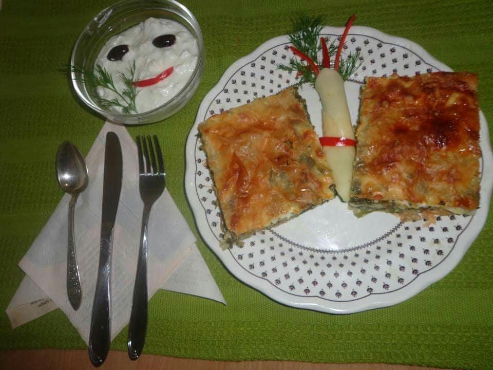 Byrek me Spinaq - Ana1 - KuzhinaIme.al