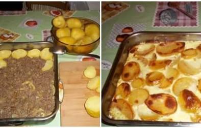 Musaka me patate të ziera - Suela Katanja - KuzhinaIme.al