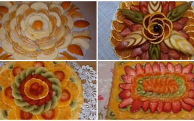 ide te bukura per dekorime me fruta