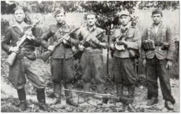 Partyzanci z oddz. im. Wandy Wasilewskiej