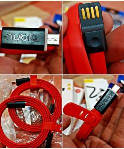 ZTE NUBIA Original Data Cable For Android (Supports Fast And Turbo Charging) USB Data Transfer Charging Sync Cable