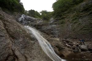 ゆるふわ沢歩き 八幡平・タツノクチ沢の大滝・滝壺