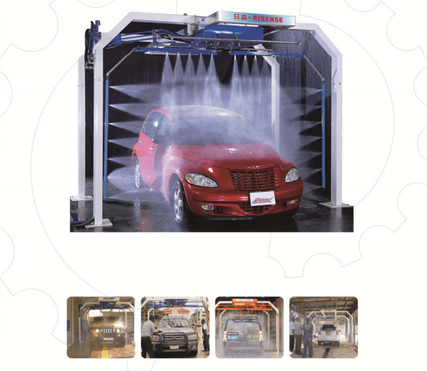 CH-200 Automatic touch free car wash machine