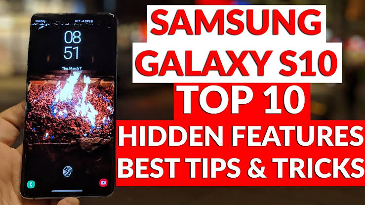 10 secrets you didn't know about the Galaxy S-10.