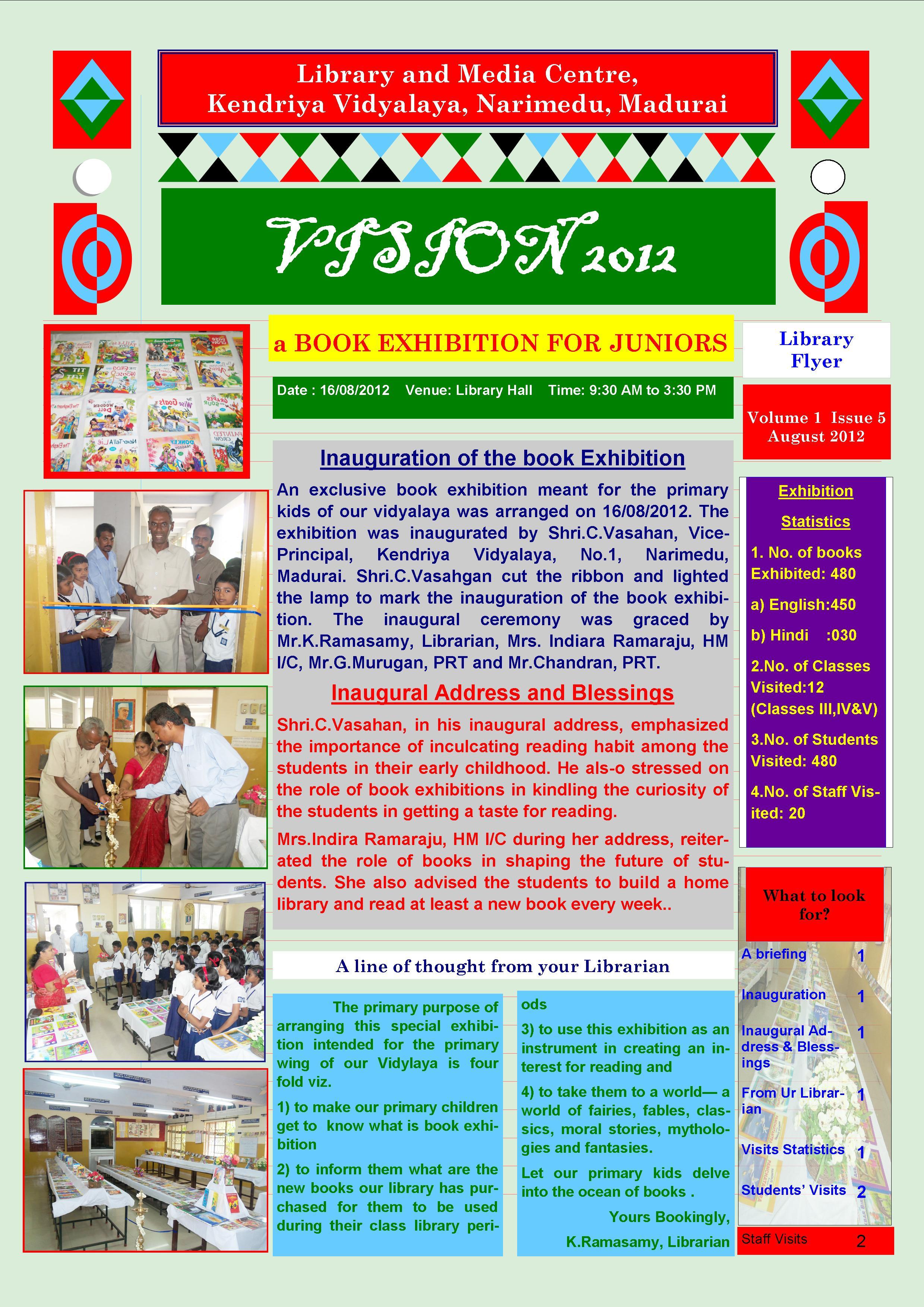 Learning Resource Centre Library Kendriya Vidyalaya