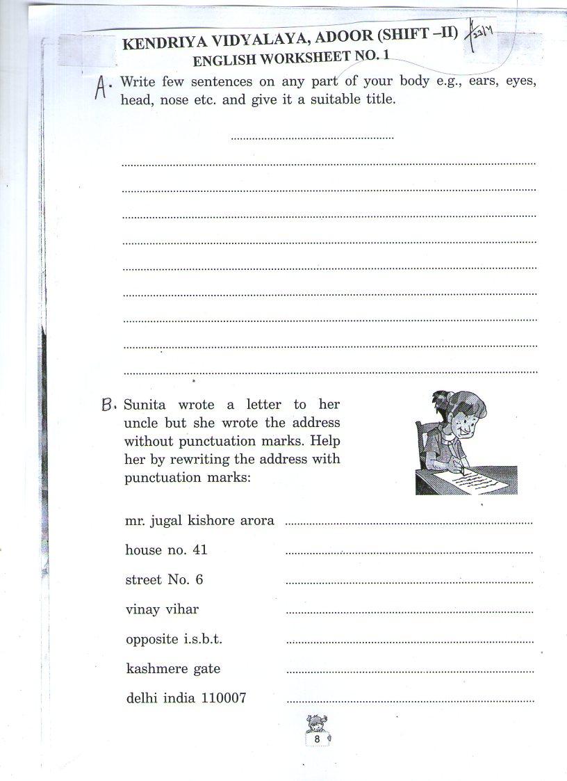 medium resolution of English   Kendriya Vidyalaya Sangathan - econtent for Class IV