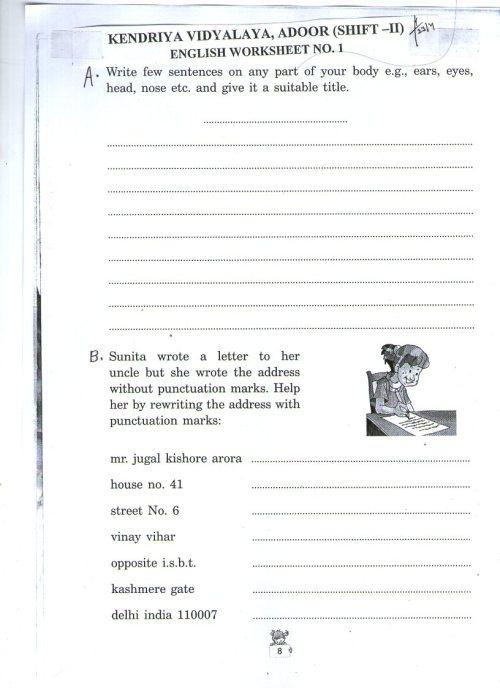 small resolution of English   Kendriya Vidyalaya Sangathan - econtent for Class IV