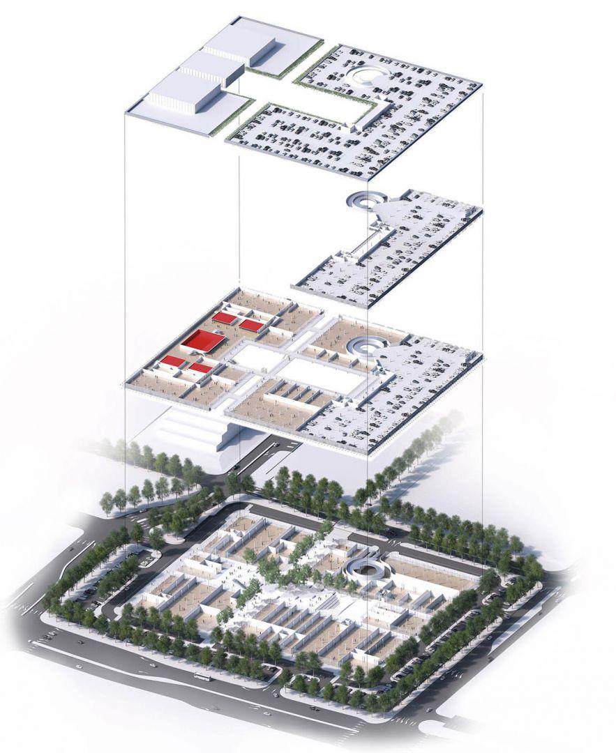 San Ramon Mall : ramon, Reimagining, Kvadrat, Interwoven