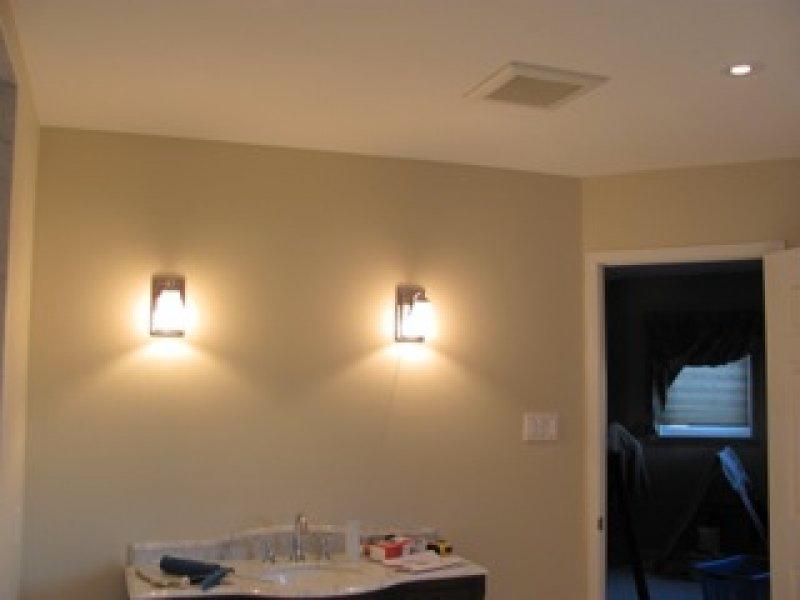 Bathroom Wall Sconces Installation Brampton-9