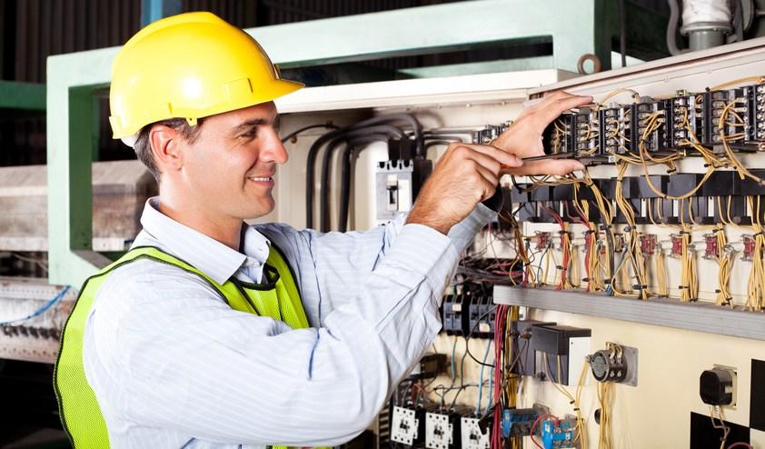 Toronto Electrician Repairing Motor Control Panel 11