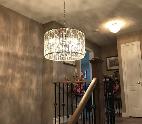 Chandelier Installation Woodbridge view 9
