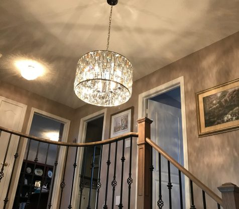 Chandelier Installation Woodbridge view 11