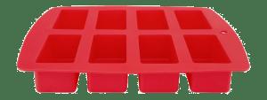 Siliconenvorm voor 8 cakejes