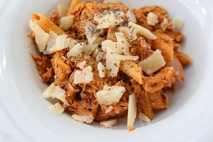 Super makkelijke maaltijd van ingrediënten die je altijd wel in huis hebt.