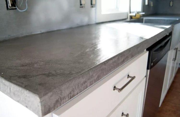 Купить бетонную столешницу